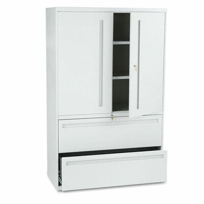 700 Series 2 Door Storage Cabinet Finish: Light Gray Product Photo 1949