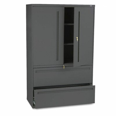 700 Series 2 Door Storage Cabinet Finish: Charcoal Product Photo 1949