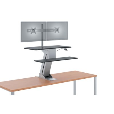 41 H x 31 W Standing Desk Conversion Unit