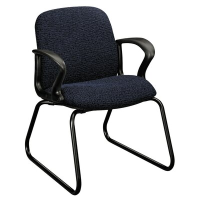 Gamut Sled Base Guest Chair Color: Black