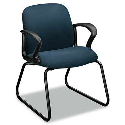 Gamut Sled Base Guest Chair Color: Cerulean