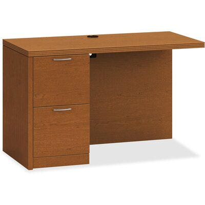 11500 Series Desk Return Finish: Bourbon Cherry, Size: 31.4 H x 51.9 W x 26.4 D, Orientation: Left