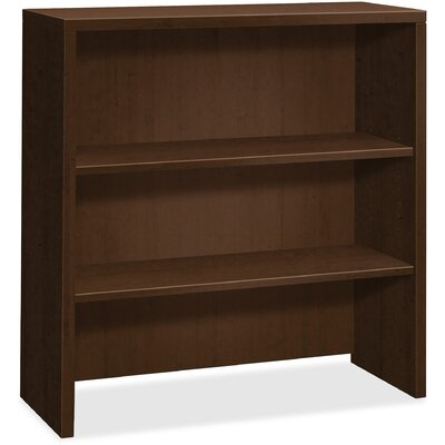 10500 Series Bookcase Hutch Finish/Color: Mocha, Size: 4.2 H x 45.8 W x 36.7 D