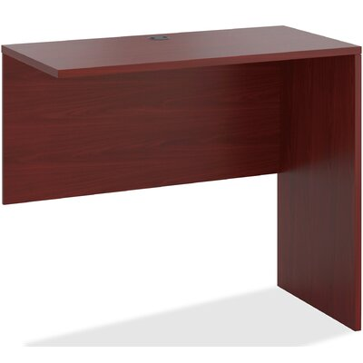 10500 Series 52.8 W x 3.8 D Right Desk Return Finish: Mahogany