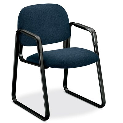 Solutions 4008 Guest Chair Seat Color: Blue/Black