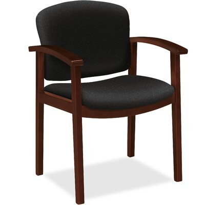 Guest Chair Seat Color: Morel, Frame Finish: Mocha