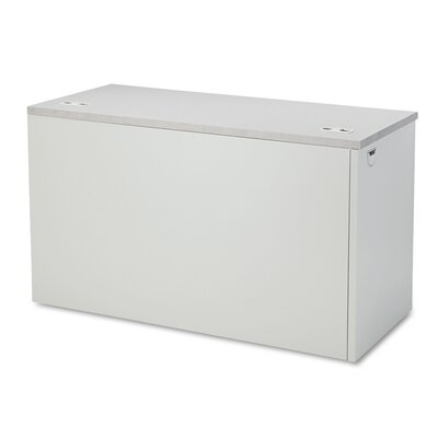 38000 Series 29.5 H x 48 W Left Desk Return Finish: Light Gray