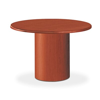 10700 Series Round Table Top, 42 Diameter Finish: Cognac