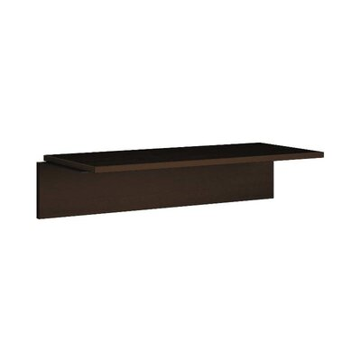 101 Series 10.5 H x 44.5 W Desk Bridge Finish: Mocha
