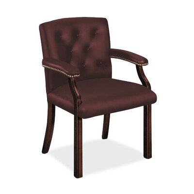 6540 Series Guest Chair Seat Color: Merlot