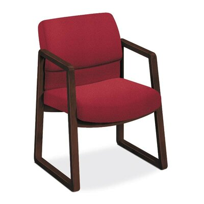 2400 Series Guest Chair Seat Color: Marsala