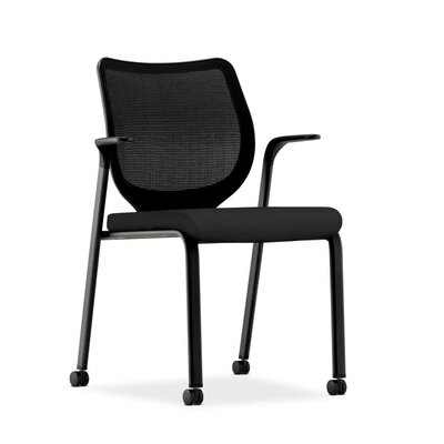 Nucleus Guest Chair Base Finish: Black