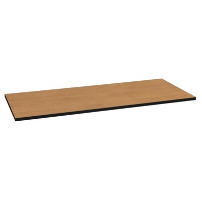 Huddle 1.13 H x 72 W Table Top Finish: Harvest/Black