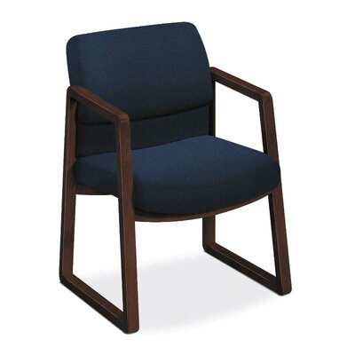 2400 Series Guest Chair Seat Color: Navy