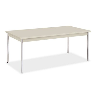 72 W Utility Training Table Table Top Finish: Light Gray