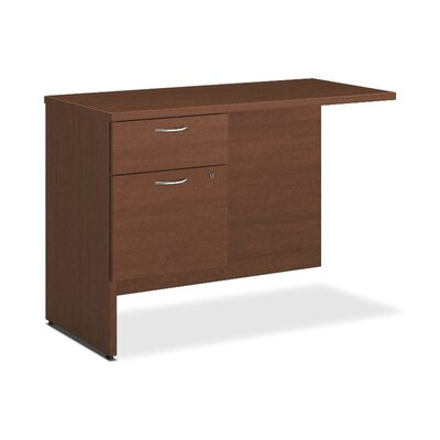 101 Series 29.5 H x 42 W Left Desk Return Finish: Shaker Cherry, Orientation: Left