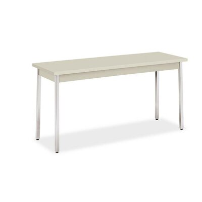 60 W Utility Training Table Table Top Finish: Light Gray