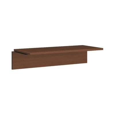 101 Series 10.5 H x 44.5 W Desk Bridge Finish: Shaker Cherry