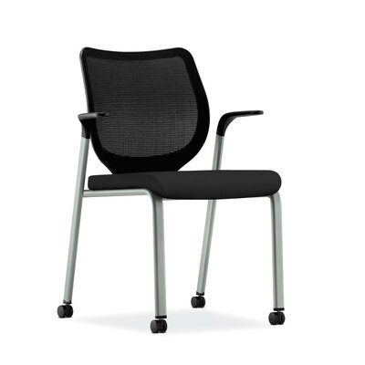 Nucleus Guest Chair Base Finish: Platinum Metallic