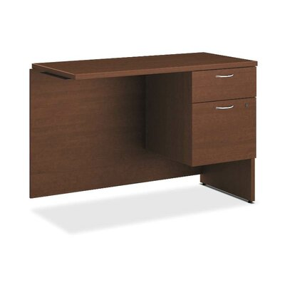 101 Series 29.5 H x 42 W Left Desk Return Finish: Shaker Cherry, Orientation: Right