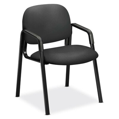 Solutions-4 Series Guest Chair Seat Color: Iron Ore
