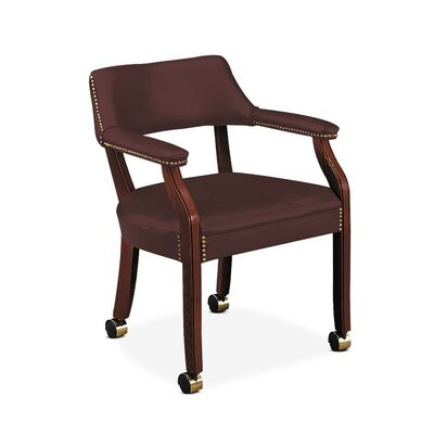 6550 Series Guest Chair Seat Color: Merlot