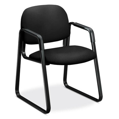 4000 Series Guest Chair Seat Color: Black