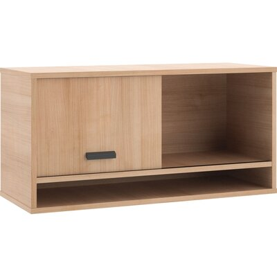 Manage 17.8 H x 36 W Desk Hutch Finish: Wheat