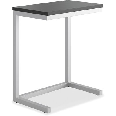 Occasional Cantilever End Table Color: Black