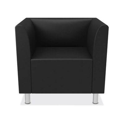 Lounge Arm Chair Upholstery: Black