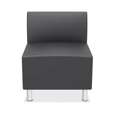Lounge Chair Upholstery: Charcoal
