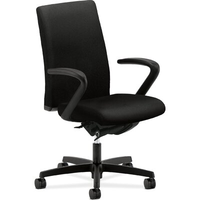 HON Ignition Work Mid-Back Pneumatic Synchro-tilt Office Chair -Tilt:Tilt Tension & Lock, Arms:Height & Width Adj Arms, Finish:Black at Sears.com
