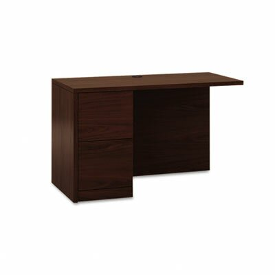 10500 Series 29.5 H x 48 W Desk Return Finish: Mahogany, Location: Left