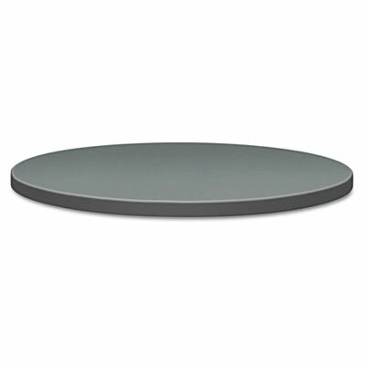 Self-Edge Round Hospitality Table Top Size: 30 Dia, Color: Charcoal