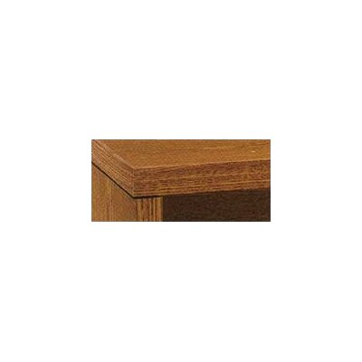 10500 Series 29.5 H x 42 W Desk Bridge Finish: Medium Oak