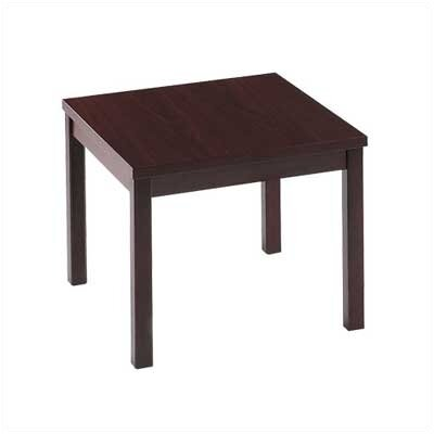 Occasional Tables Laminate Corner End Table Color: Mahogany
