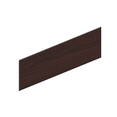 10500 Series 18.5 H x 48 W Desk Privacy Panel Color: Mahogany
