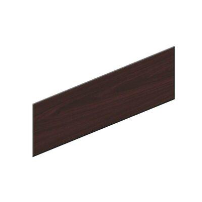 10500 Series 18.5 H x 48 W Desk Privacy Panel Finish: Mahogany