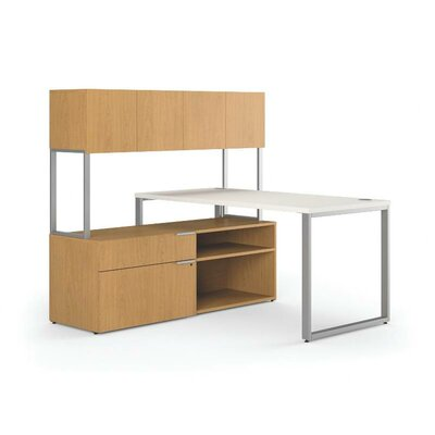 Voi Executive Desk with Stack 1 Locking Lateral Orientation: Left Product Picture 387