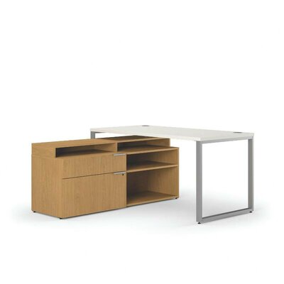 Voi Executive Desk with Stack Orientation: Left Product Picture 387
