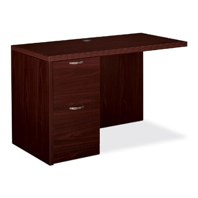 11500 Series Desk Return Size: 29.5 H x 48 W x 24 D, Finish: Mahogany, Orientation: Left