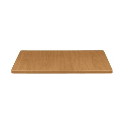 Square Table Top Size: 38 W x 38 D, Color: Harvest