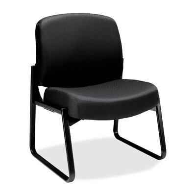 3500 Sled Base Guest Chair Color: Black