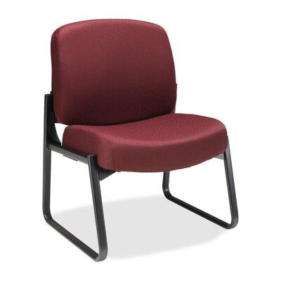 3500 Sled Base Guest Chair Color: Wine