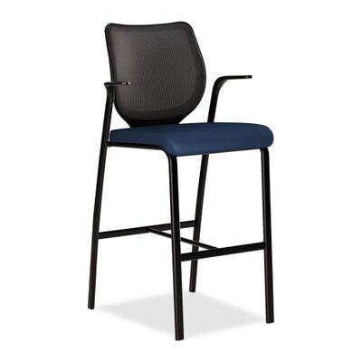 Iliria-Stretch Bar Stool Color: Mariner