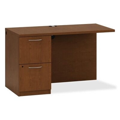 Park Avenue Series 29.5 H x 48 W Desk Return Color: Henna Cherry, Orientation: Left