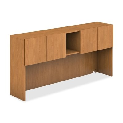 35 H x 72 W Desk Hutch Finish: Harvest