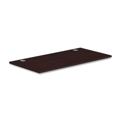 Voi Worksurface Rectangle Finish: Mahogany