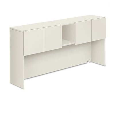 Voi Stack-On Storage Unit Finish: Columbian Walnut and Silver Mesh Product Image 1026