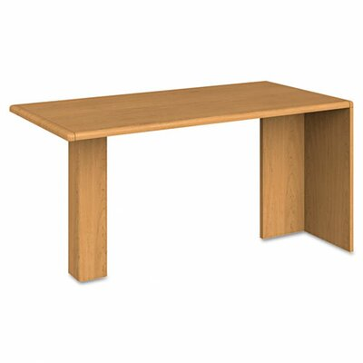 10700 Series 29.5 H x 60 W Desk Peninsula Finish: Harvest
